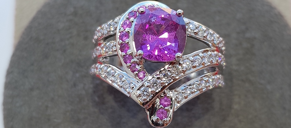 New – Sapphire Cocktail Ring Collection