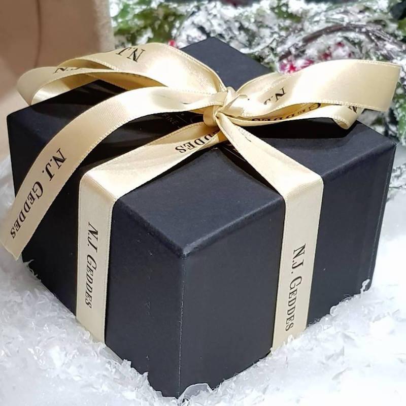N.J. Geddes Fine Jewellery Gift Box Christmas