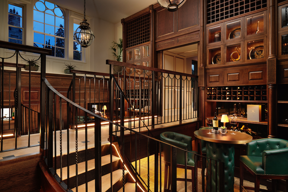 Grantley Hall Wine Cellar